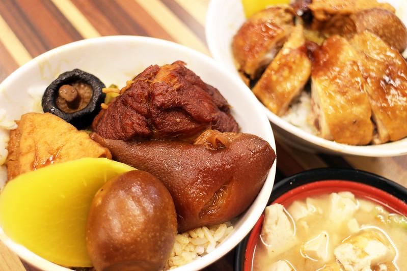 【新北市三重美食小吃】溪尾街33年歷史的「知高飯 玉知高華」老店裡。(三重有名便當店)
