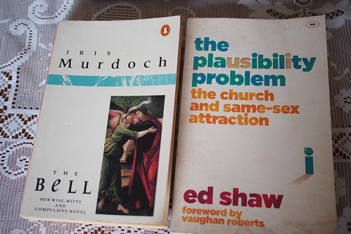 "Iris Murdoch's ""The Bell"" and Ed Shaw's ""The Plausibility Problem: the church and same sex attraction"""