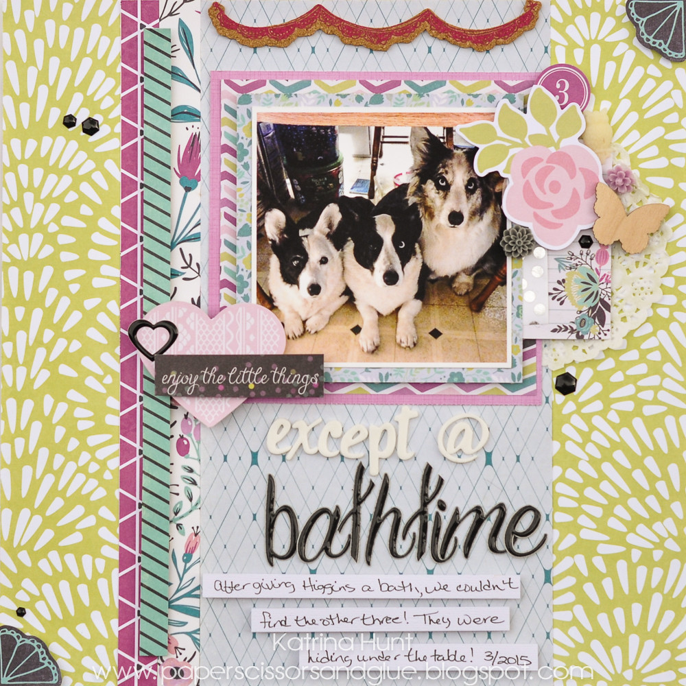 Except_Bathtime_Scrapbook_Layout_CREATE_Katrina_Hunt_Scrapbook_Generation_1000Signed-1