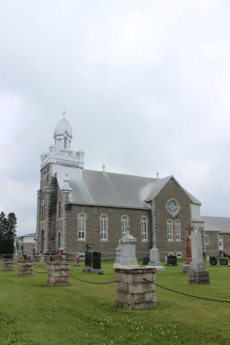 ontario canada church cemetery catholic église cimetière on