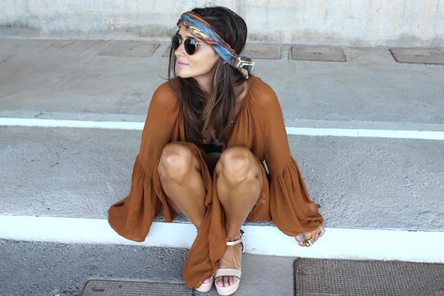 boho summer dress coohuco 3