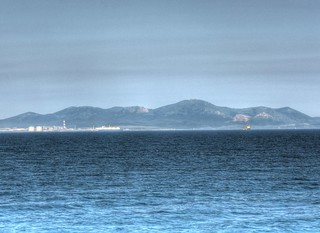View of Sakhalin side from 'EINS SOYA' on JUL 21, 2015 (6)