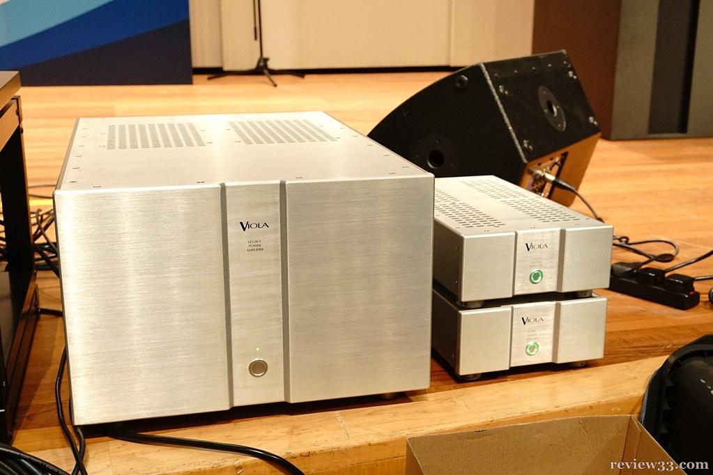 Viola Legacy Power Amplifier & Forte Mono Power Amplifier