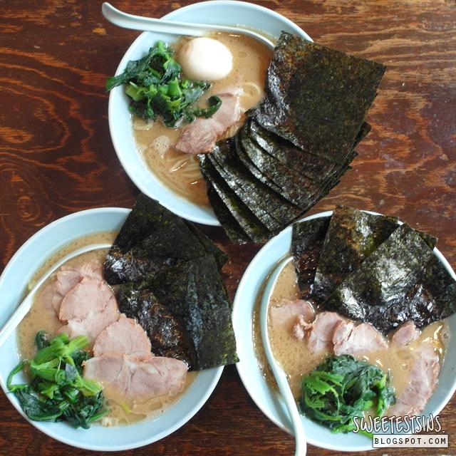 麺家ばく目黒店 chashu ramen tonkotsu ramen