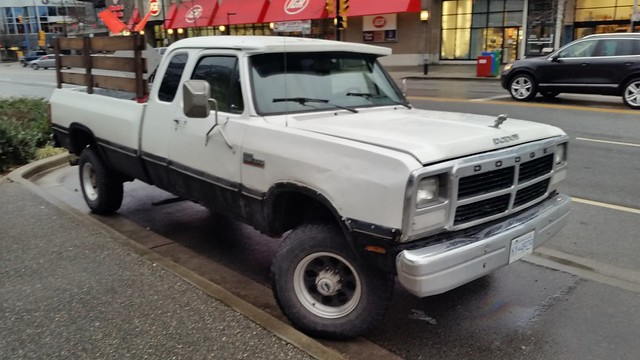 Dodge Ram diesel pickup truck