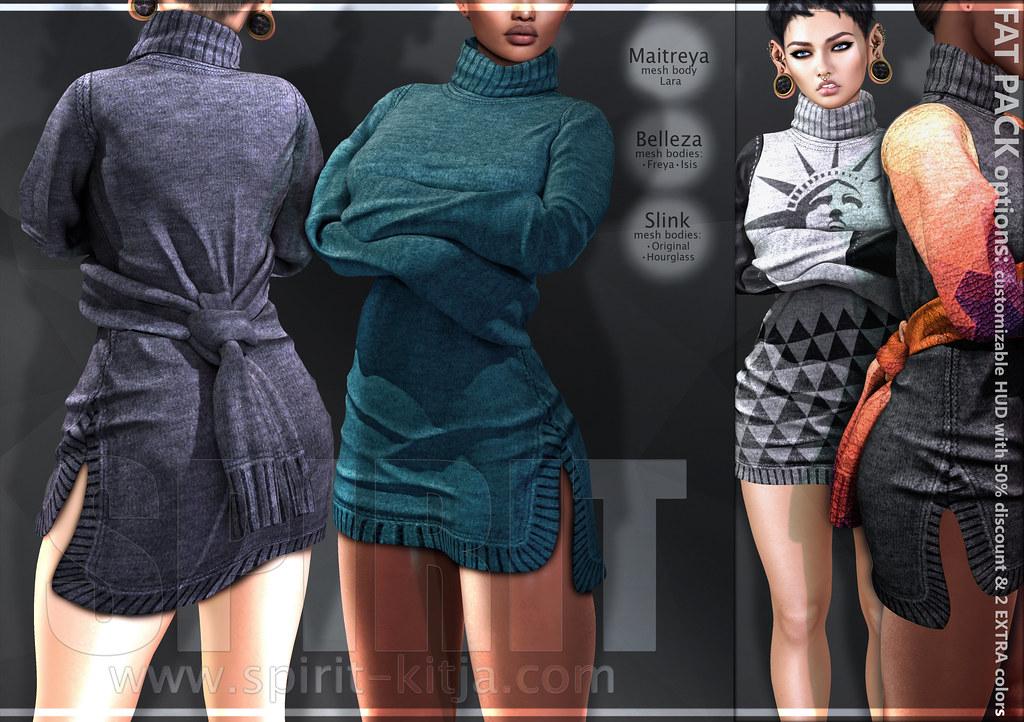 SPIRIT - Loky dress - SecondLifeHub.com
