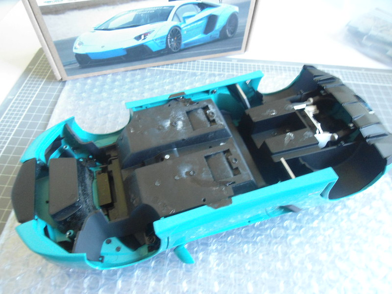 Liberty Pull Apart >> Build Process Of The Hobby Design Liberty Walk Aventador Kit