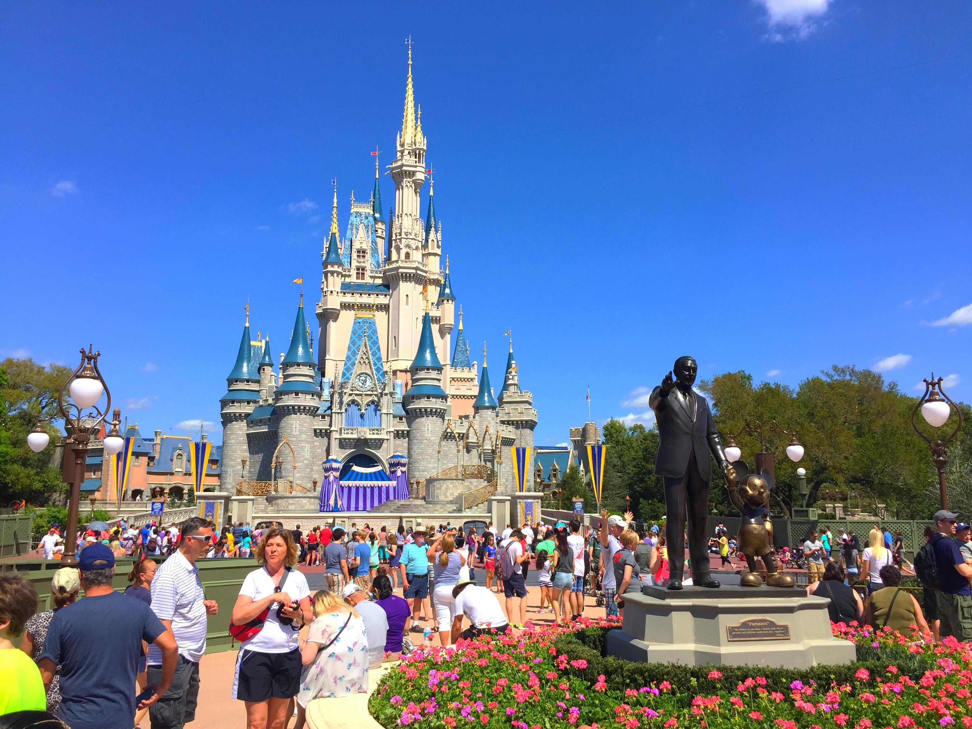 Disney World Day 1 2015
