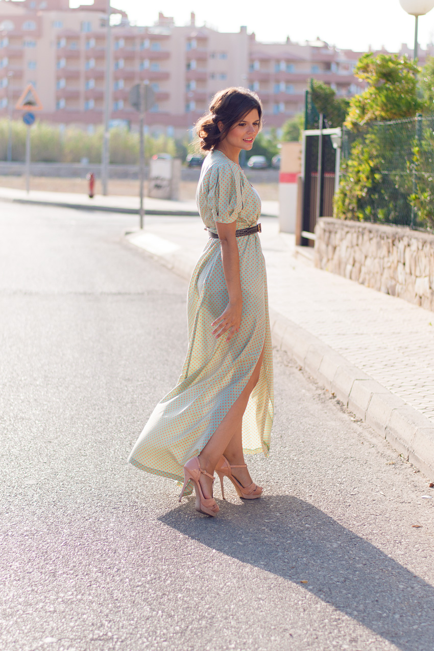 look-con-vestido-largo