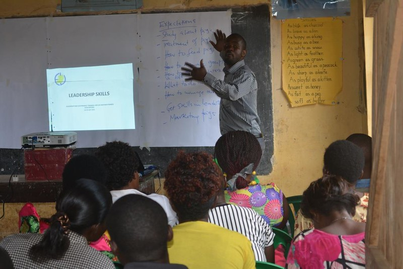 Pig farmer Capacity building in Masaka, Uganda