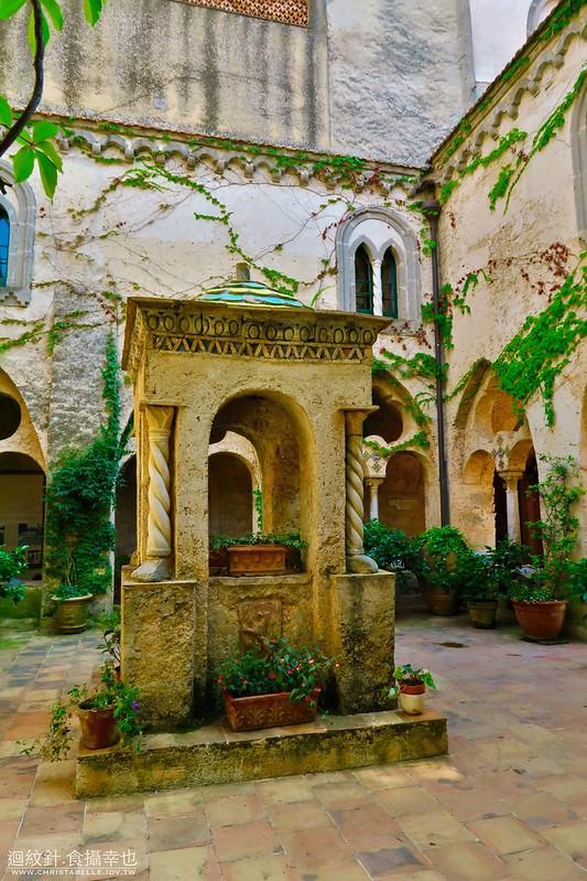 The Cloister, Villa Cimbrone, Ravello, Amalfi Coast, Italy