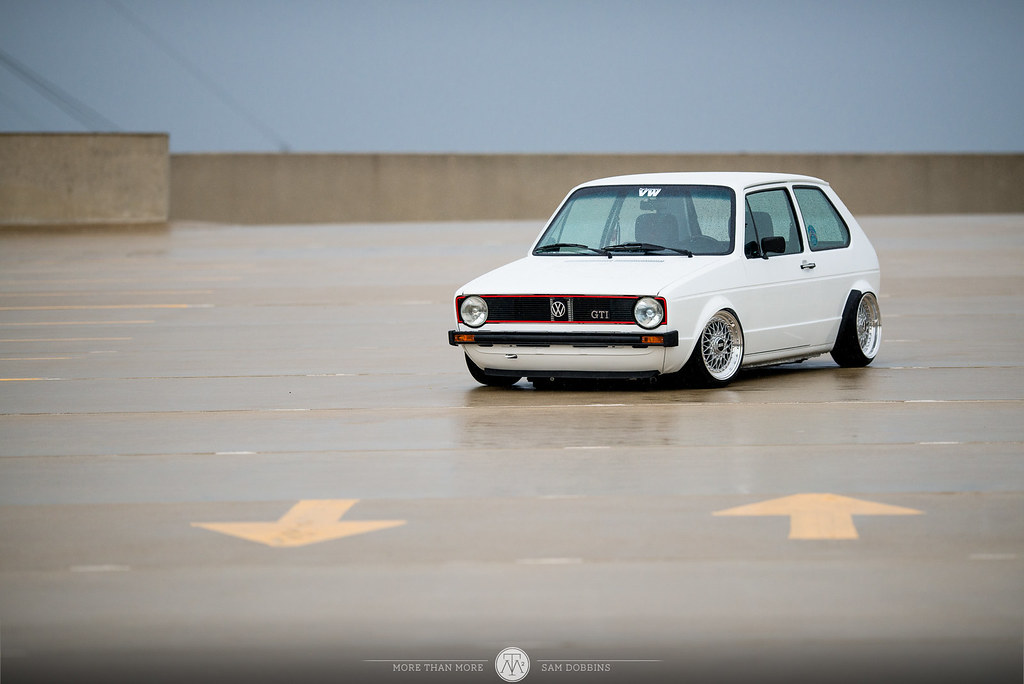 Jesse Seymour's GarageJobs Mk1 VW Rabbit VR6 on BBS RS - © Sam Dobbins 2014 - 1041