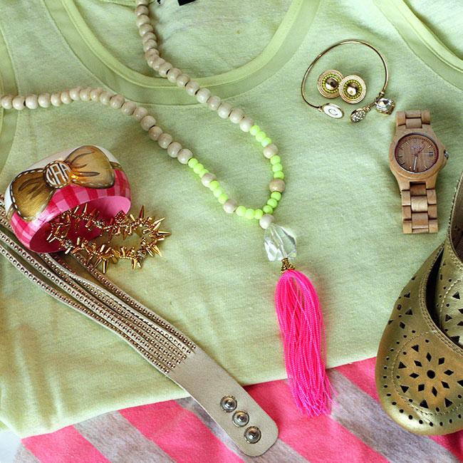Make Your Own Tassel Necklace: DIY Beaded Tassel Necklace