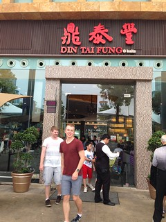 Singapore, lunch at Din tai fung, Sea aquarium