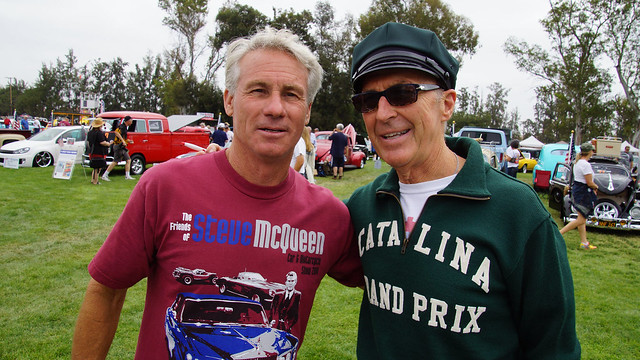Vinnie Mandzak volunteers at Steve McQueen Car Show 2013
