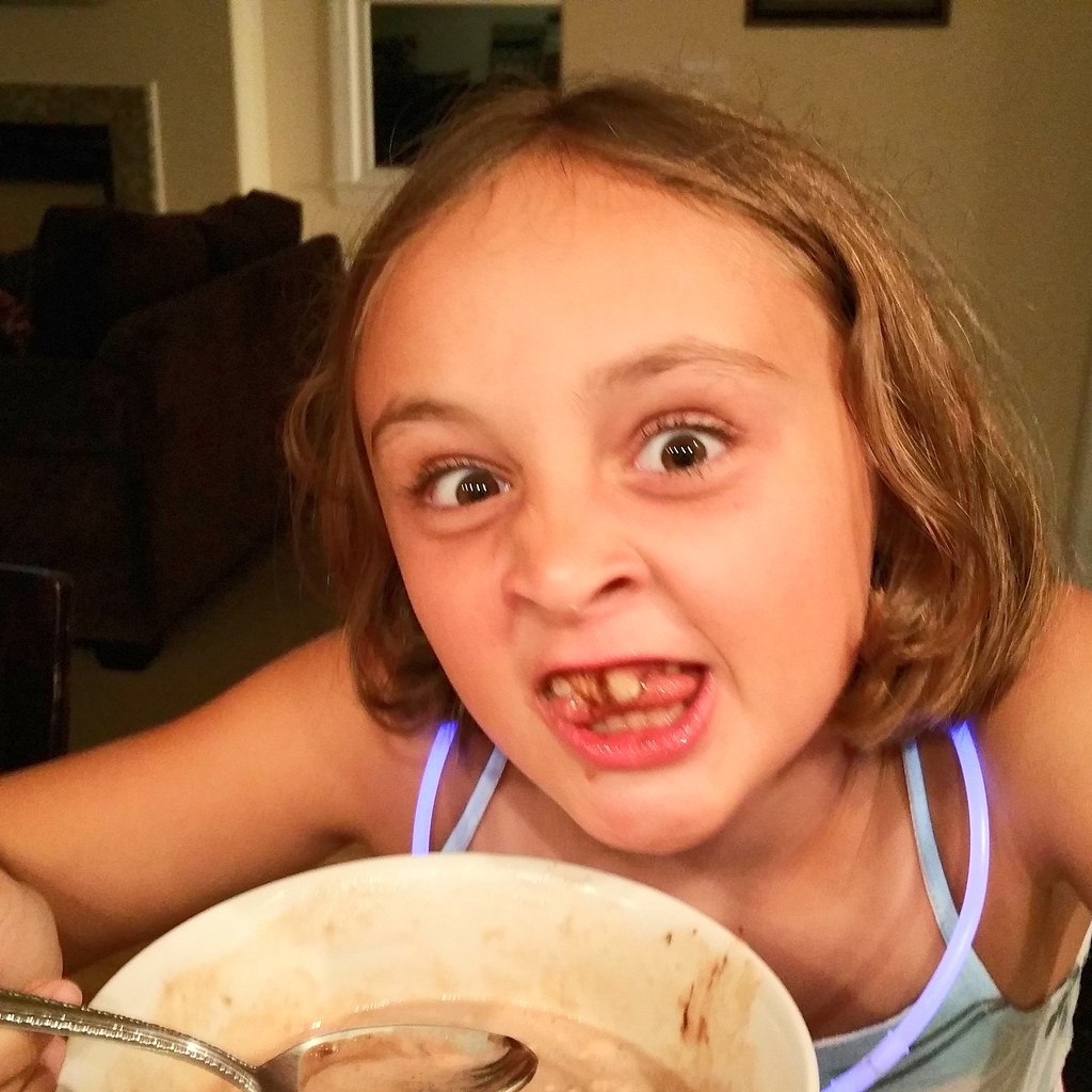 Chocolate Sundae Face