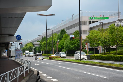 成田空港敷地内