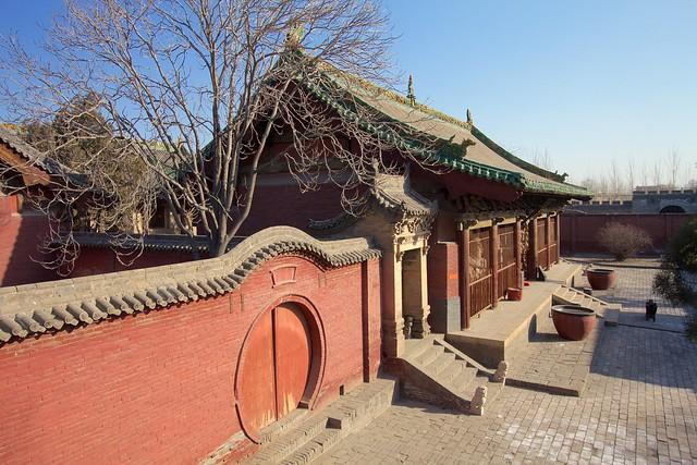 Photo:Hall of the Heavenly Kings (天王殿, tiānwáng diàn) By foliosus
