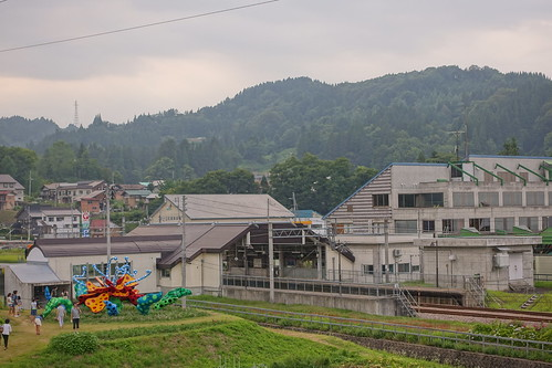 Tsumari in Bloom with Matsudai Station