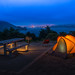 Warm Tent/Cool Night by atenpo