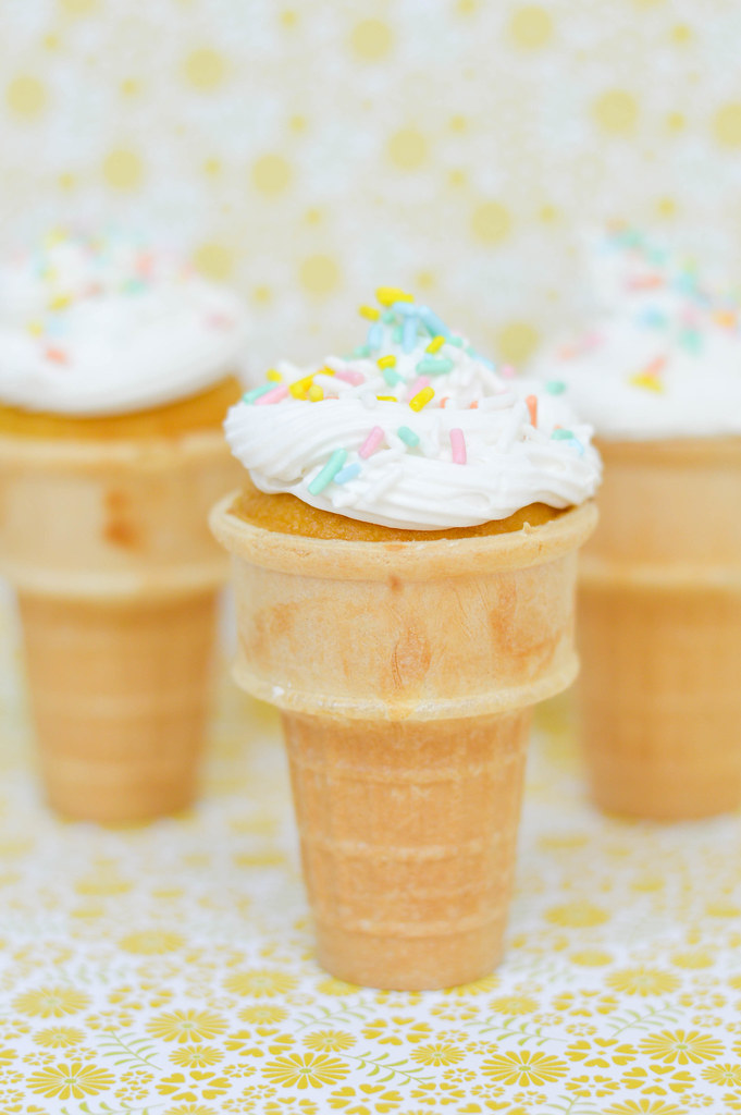 cupcake-icecream-cones