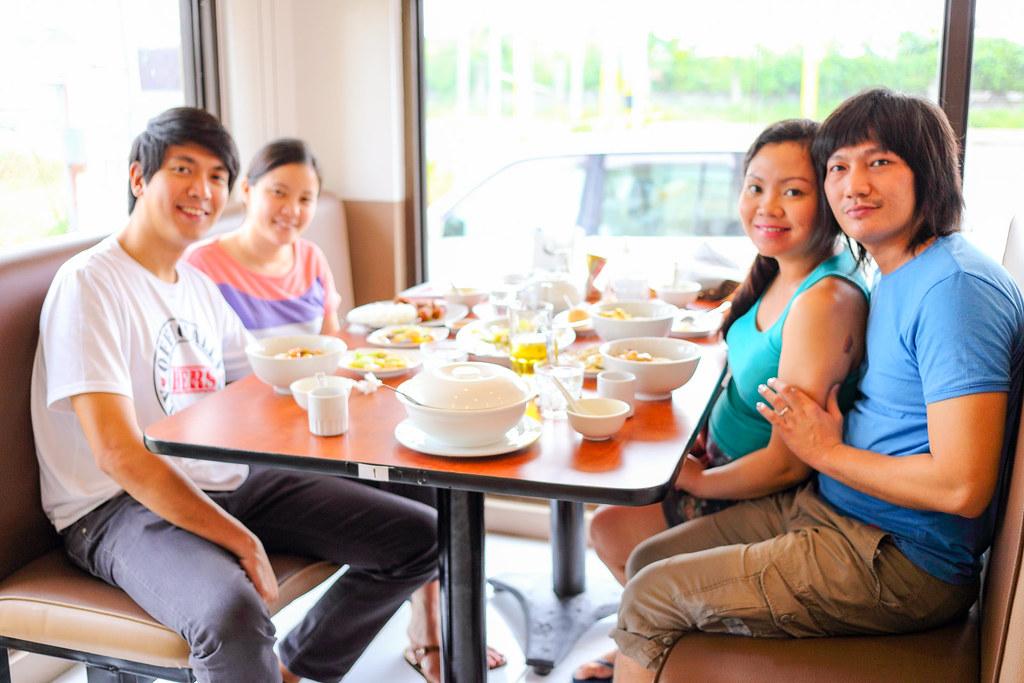 Glenn, Maxine, Jaycelle and Brian at Ho Chai Lai