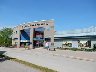 St Catherines Museum and Welland Canal Lock Centre - Entrance