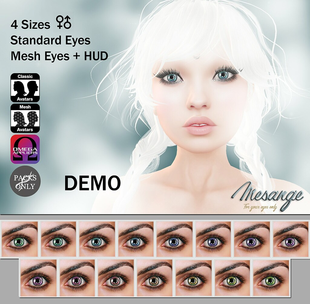 MESANGE - Percy Eyes for LOST & FOUND - SecondLifeHub.com