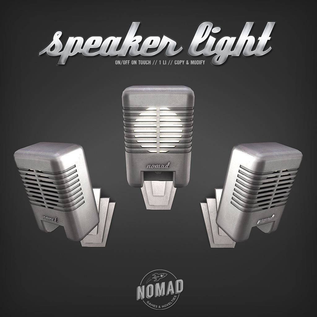 NOMAD // Speaker Light - SecondLifeHub.com