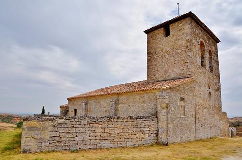 Abajas (Burgos). Iglesia de Nuestra Señora
