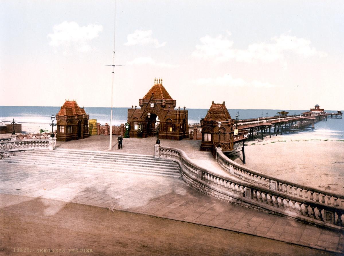 Skegness Pier, England, 1895