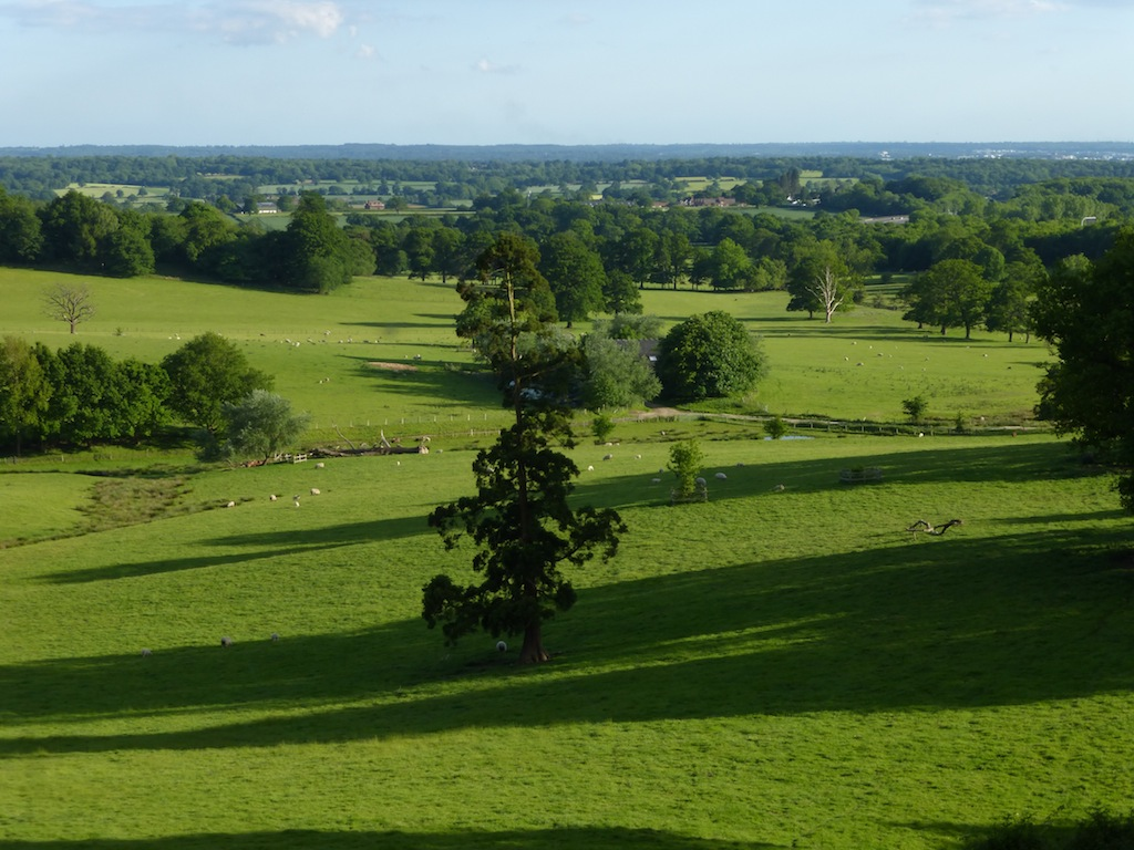 View from just before Bletchingley Earlswood to Otford walk