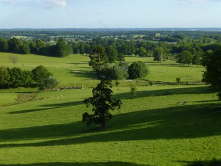 View from just before Bletchingley