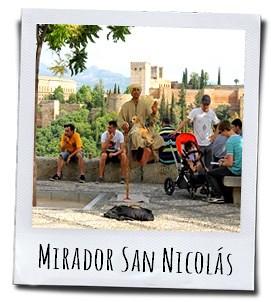 Voor het mooiste uitzicht op het Alhambra ga je naar el Mirador San Nicolás