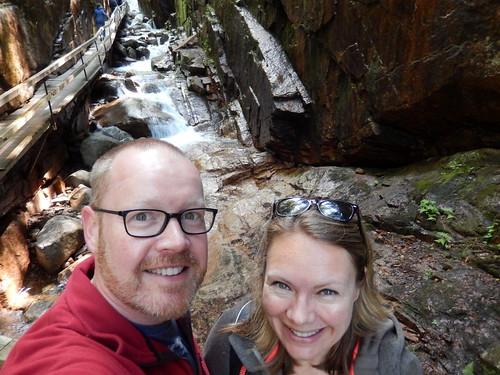 Franconia Notch State Park - The Flume - 3