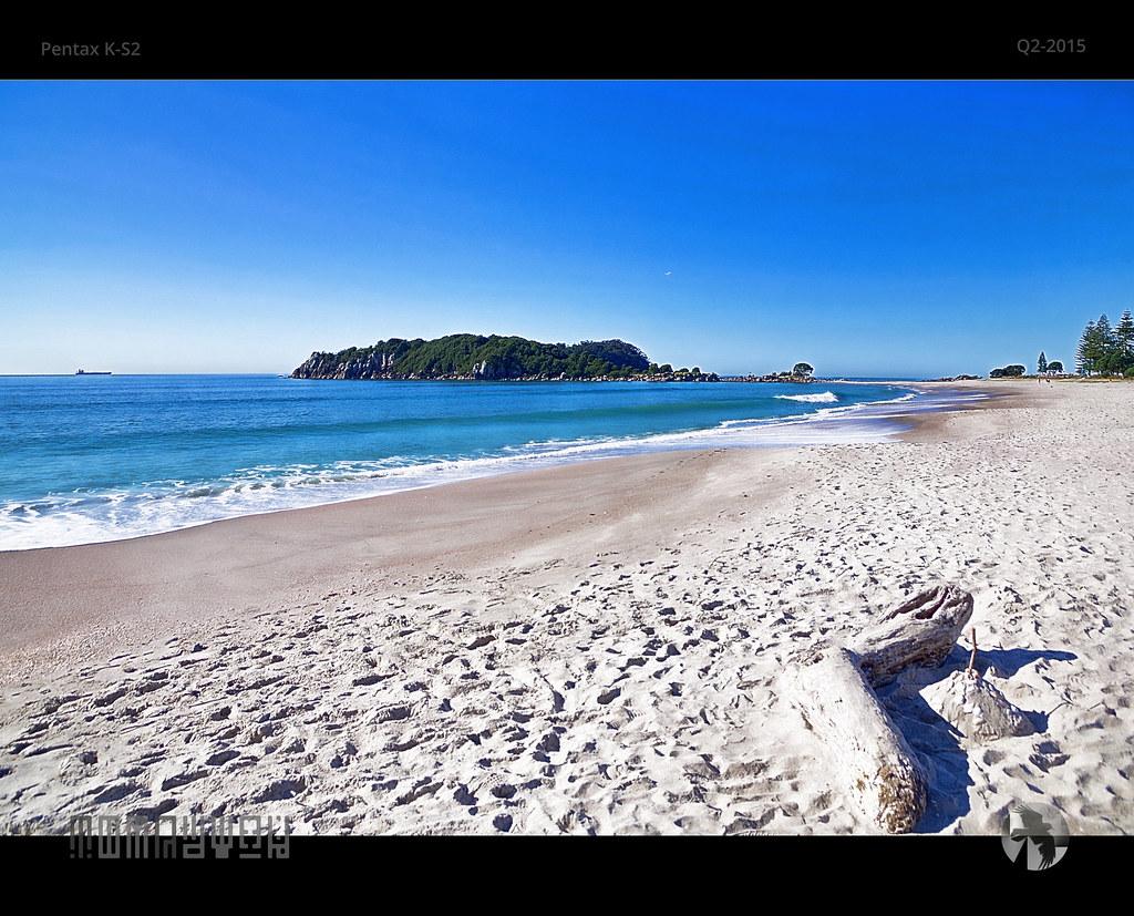 Elevation Of Welcome Bay Tauranga New Zealand