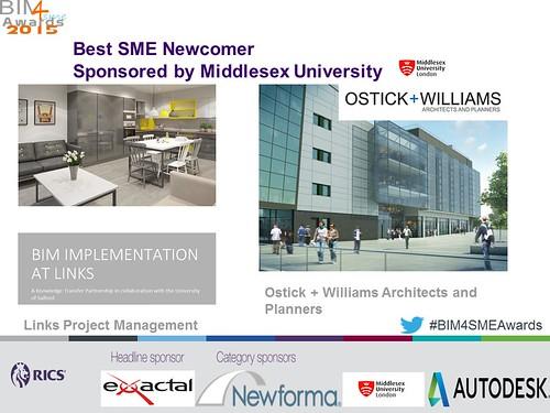 Shortlisted 2 Best SME Newcomer BIM4SMEawards