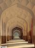 Jhangir's tomb hallway. . .