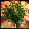 #linguine #shrimp #aglioeOlio #homemade #CucinaDelloZio - fresh parsley