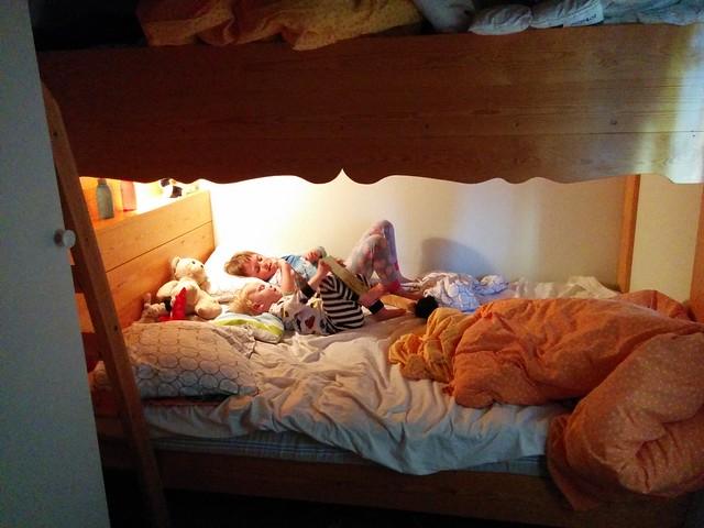 Barnen delade en underslaf