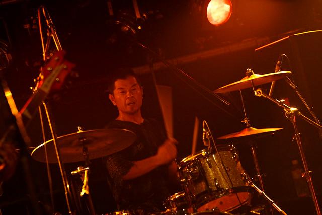 SPUTNIK KOMBINAT live at ShowBoat, Tokyo, 26 Jul 2015. 123