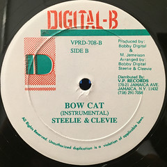 SHABBA RANKS:DEM BOW(LABEL SIDE-B)