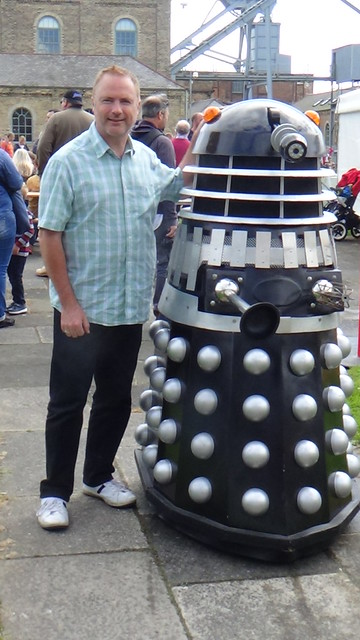 Dalek at Woodhorn Museum July 15 9
