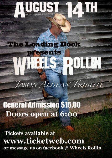 Wheels Rollin 8-14-15