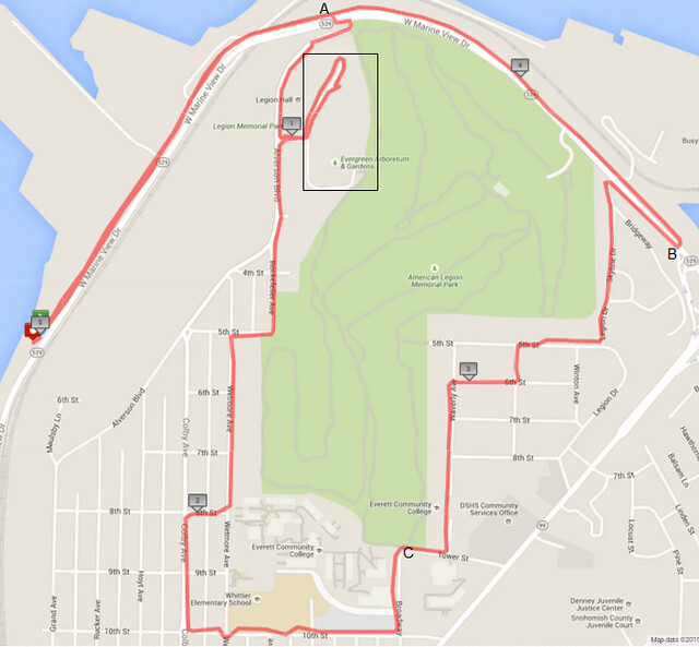Today's awesome walk, 5.04 miles in 1:32, 10,833 steps, 273ft gain