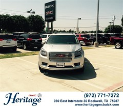Congratulations to Michael Plattero on your #Gmc #Acadia from Mario Retta at Heritage Buick GMC! #NewCar