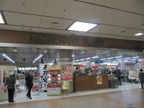 中山競馬場の地下1階レストランプラザ