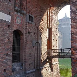 תמונה של Sforza Castle ליד Milano. italy milan milano castellosforzesco sforzacastle