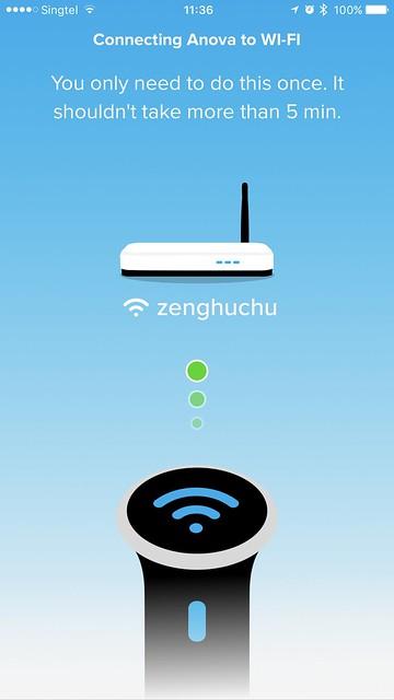 Anova Wi-Fi iOS App - Wi-Fi Setup Done
