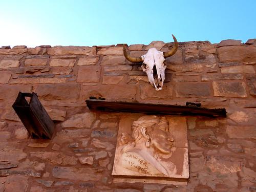 architecture ganado arizona smalltown navajo nativeamerican tradingpost historic hubbelltradingpostnationalhistoricalsite